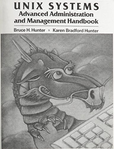 9780023589508: UNIX Systems Advanced Administration and Management Handbook