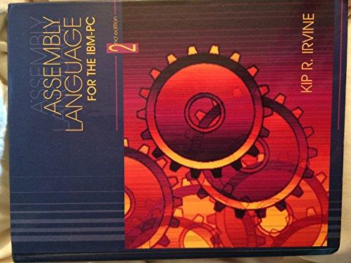 Assembly Language for the IBM-PC: Kip R. Irvine