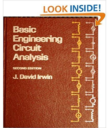 9780023598609: Basic Engineering Circuit Analysis
