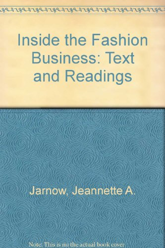 9780023600029: Inside the Fashion Business: Text and Readings