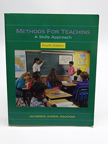 9780023601217: Methods for Teaching: A Skills Approach
