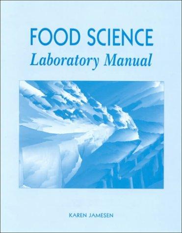 9780023601927: Food Science Laboratory Manual