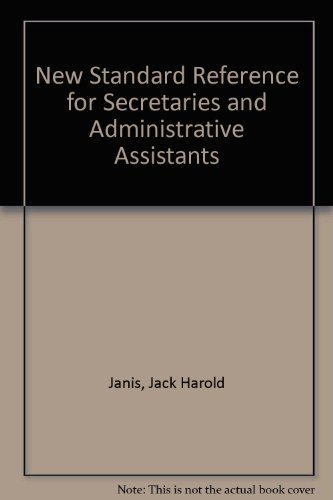 9780023602603: Title: New Standard Reference for Secretaries and Adminis