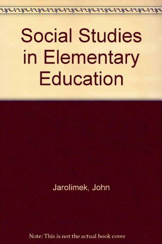9780023603518: Social Studies in Elementary Education