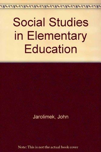 9780023603518: Social Studies in Elementary Education