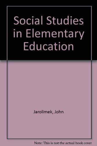 9780023604409: Social Studies in Elementary Education