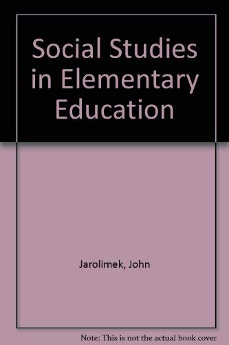 9780023604409: Social Studies in Elementary Education