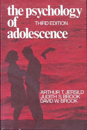 9780023606106: The Psychology of Adolescence