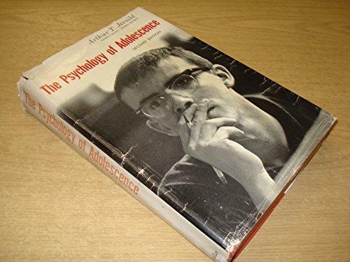 Psychology of Adolescence: Jersild, Arthur T.,