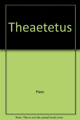 9780023607806: Theaetetus (MacMillan/Library of Liberal Arts)