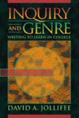 9780023611339: Inquiry and Genre: Writing to Learn in College
