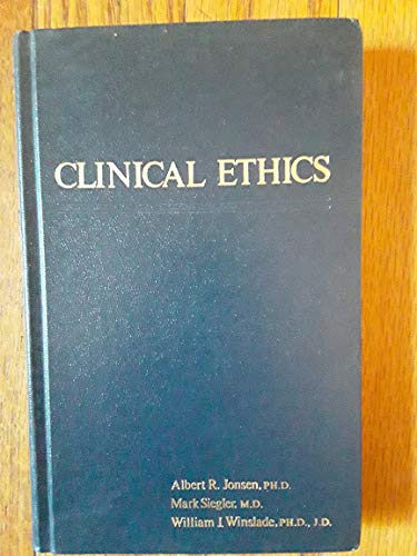 9780023613609: Clinical Ethics