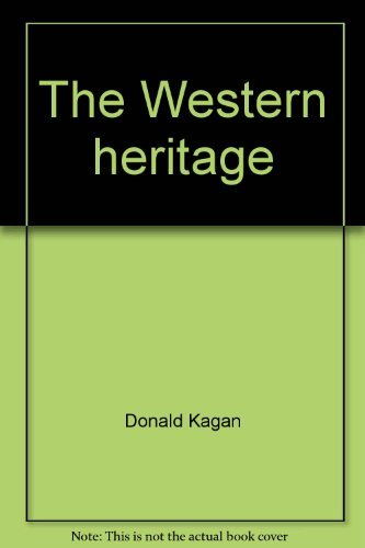 9780023616105: The Western heritage
