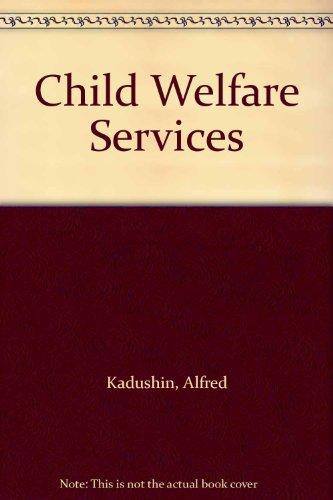 9780023618215: Child Welfare Services