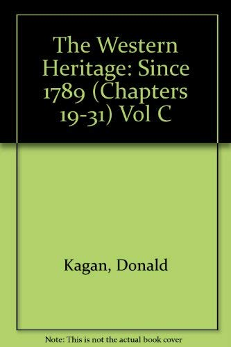 9780023619151: Western Heritage: Since 1789