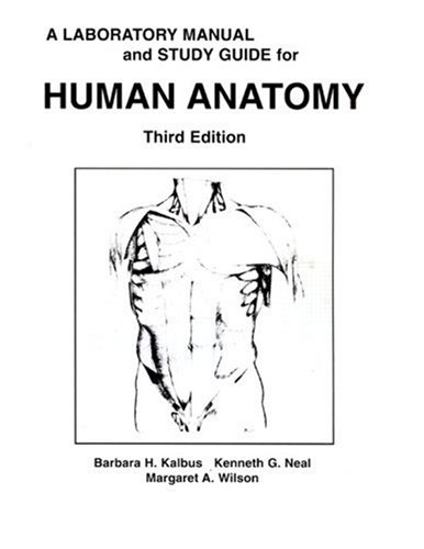 9780023619335: A Human Anatomy Laboratory Manual and Study Guide