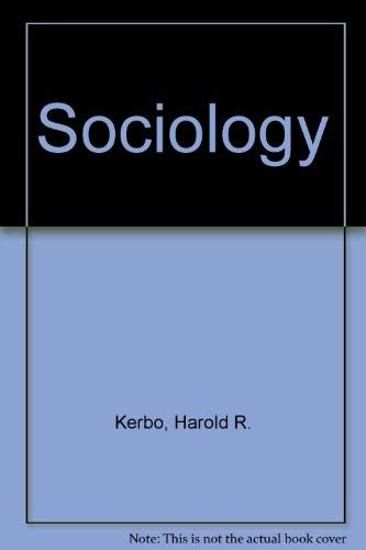 9780023627415: Sociology: Social Structure and Social Conflict