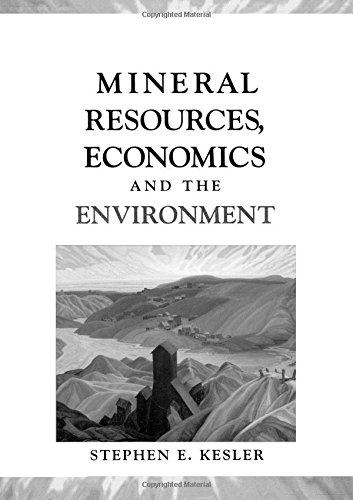 9780023628429: Mineral Resources, Economics, and the Environment