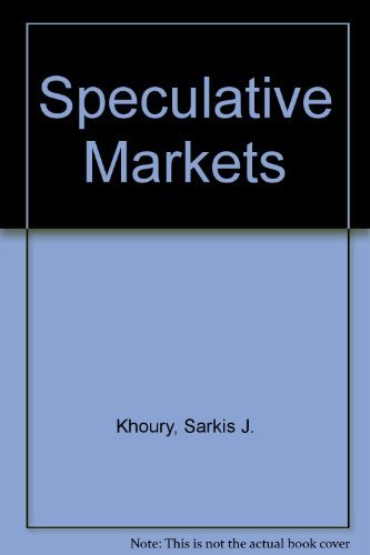 9780023628504: Speculative Markets