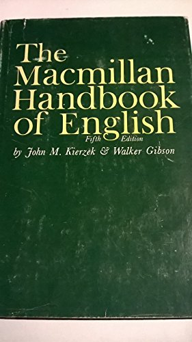 9780023630101: Macmillan Handbook of English