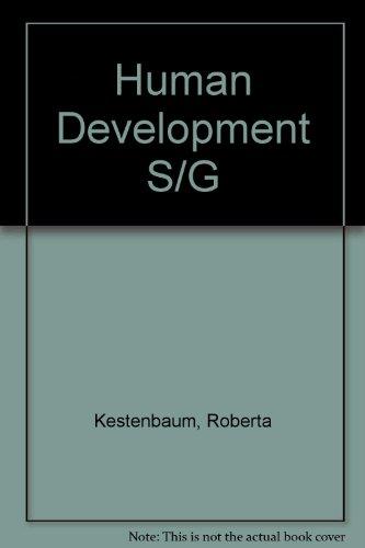 9780023631559: Human Development S/G