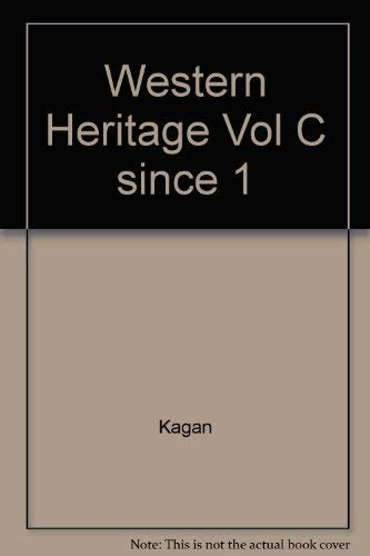 9780023632792: Western Heritage: Since 1789