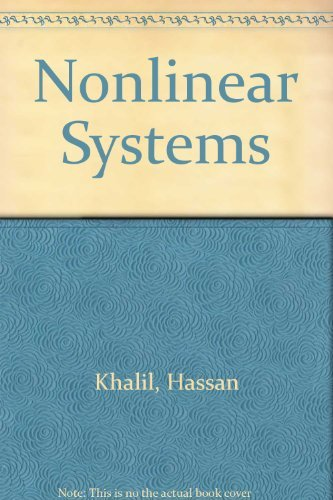 Nonlinear Systems: Hassan K. Khalil