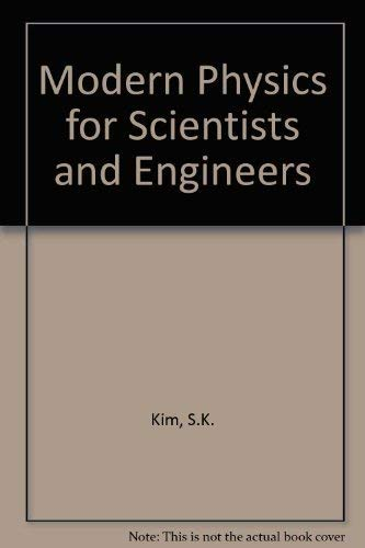 9780023637803: Modern Physics for Scientists and Engineers