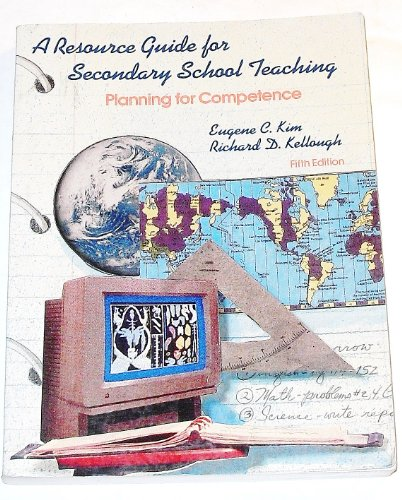 9780023638602: A Resource Guide for Secondary School Teaching: Planning for Competence
