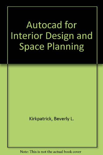 9780023644559: Autocad for Interior Design and Space Planning