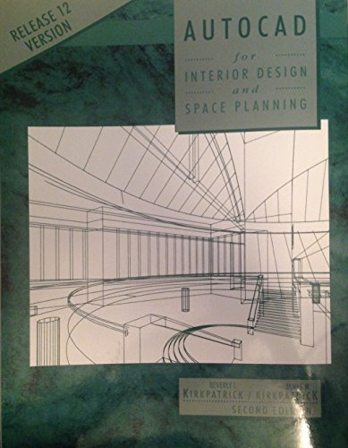 9780023644719: AutoCAD for Interior Design and Space Planning