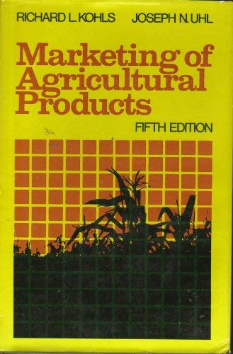 9780023656408: Marketing Agricultural Products