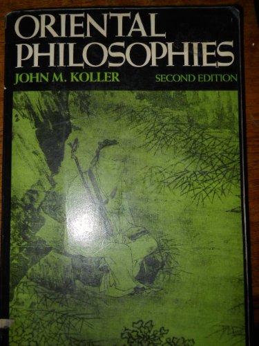 9780023658105: Oriental Philosophies