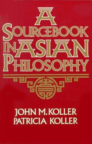 9780023658112: Sourcebook in Asian Philosophy (Sourcebooks in Philosophy)