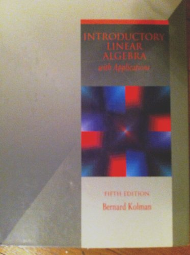 9780023660320: Introductory Linear Algebra With Applications