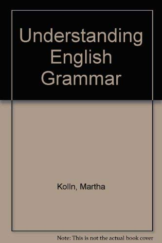 9780023660610: Understanding English Grammar