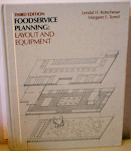 9780023661808: Foodservice Planning: Layout and Equipment