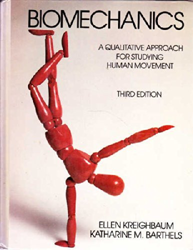 9780023663109: Biomechanics: A Qualitative Approach for Studying Human Movement