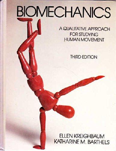 9780023663109: Biomechanics: A Qualitative Approach for Studying Human Movement