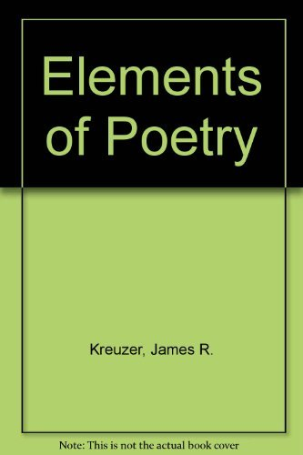 9780023664403: Elements of Poetry