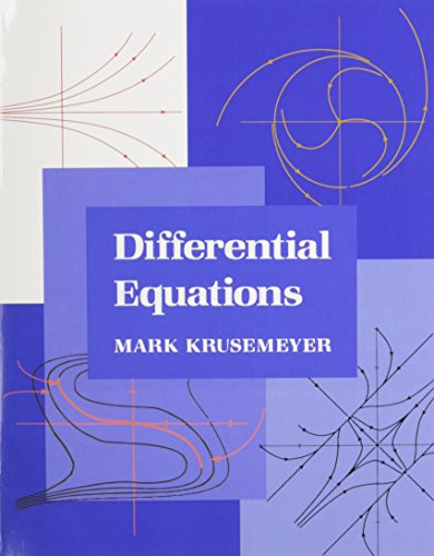 9780023669125: Differential Equations
