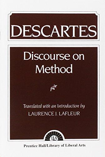 9780023671609: Discourse on Method