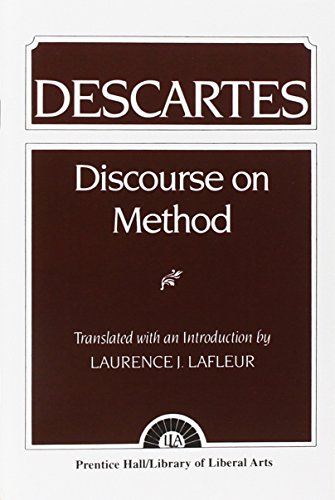 9780023671609: Descartes: Discourse On Method