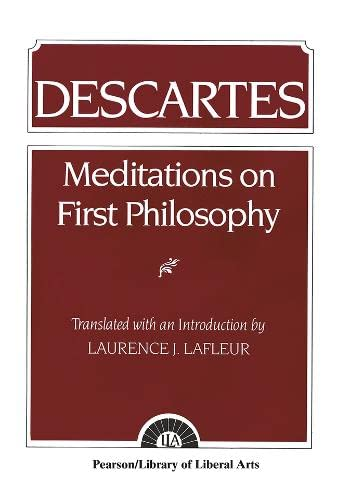 9780023671708: Meditations on First Philosophy