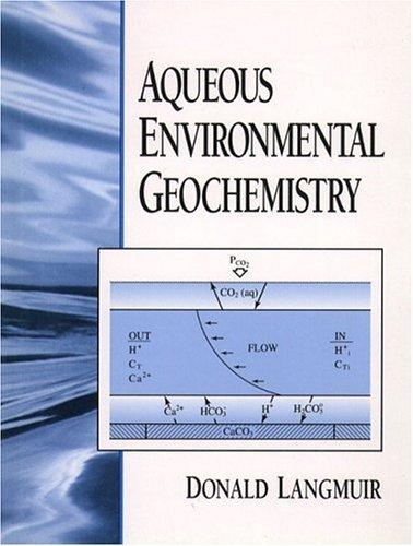 9780023674129: Aqueous Environmental Geochemistry