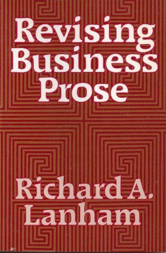 9780023674600: Revising Business Prose