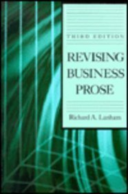 9780023674655: Revising Business Prose