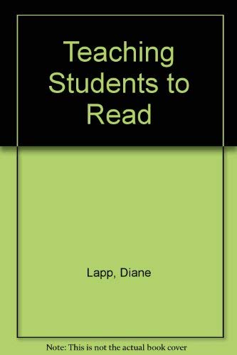 9780023676604: Teaching Students to Read
