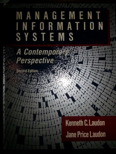 9780023681011: Management Information Systems: A Contemporary Perspective (Macmillan Series in Information Systems)