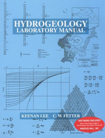 9780023692017: Hydrogeology Laboratory Manual